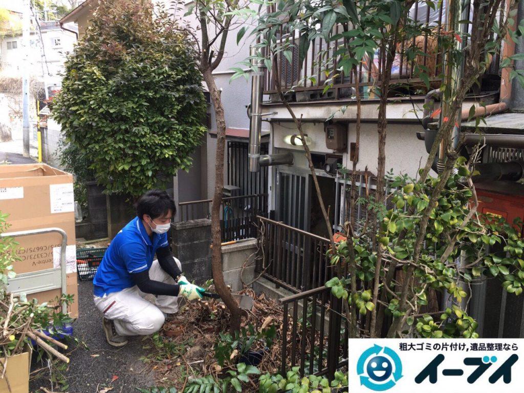 2017年8月5日大阪府池田市でゴミ屋敷の片付けや処分をしました。写真4