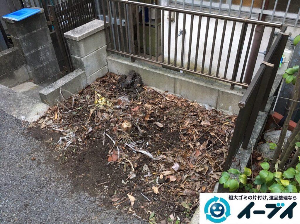 2017年8月5日大阪府池田市でゴミ屋敷の片付けや処分をしました。写真3