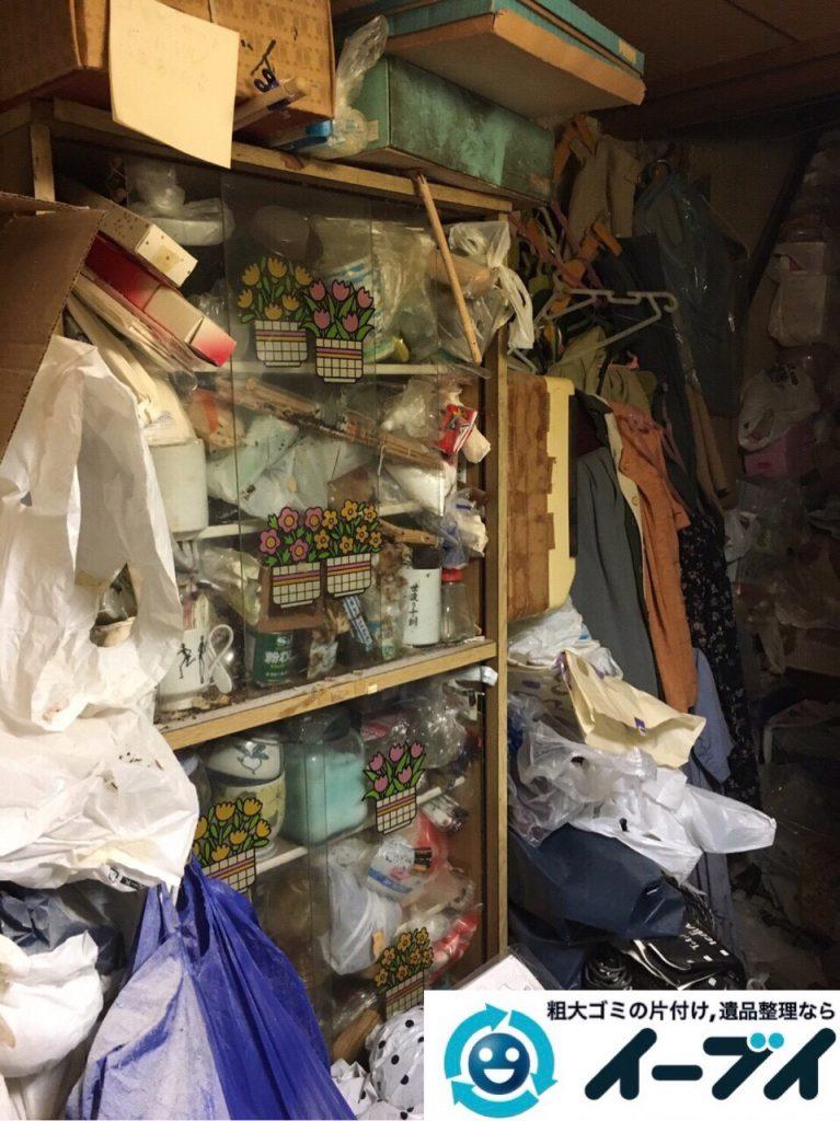2017年8月5日大阪府池田市でゴミ屋敷の片付けや処分をしました。写真1