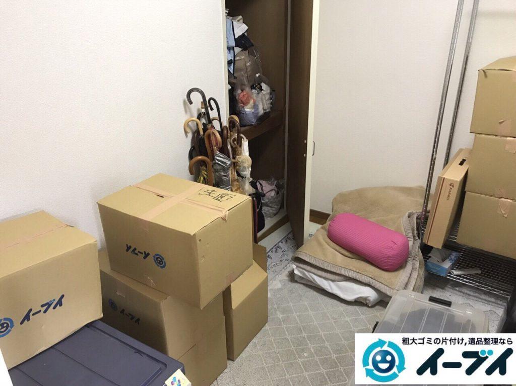 2017年8月16日大阪府豊中市で引越しに伴う不用品回収の片付け作業をしました。写真4