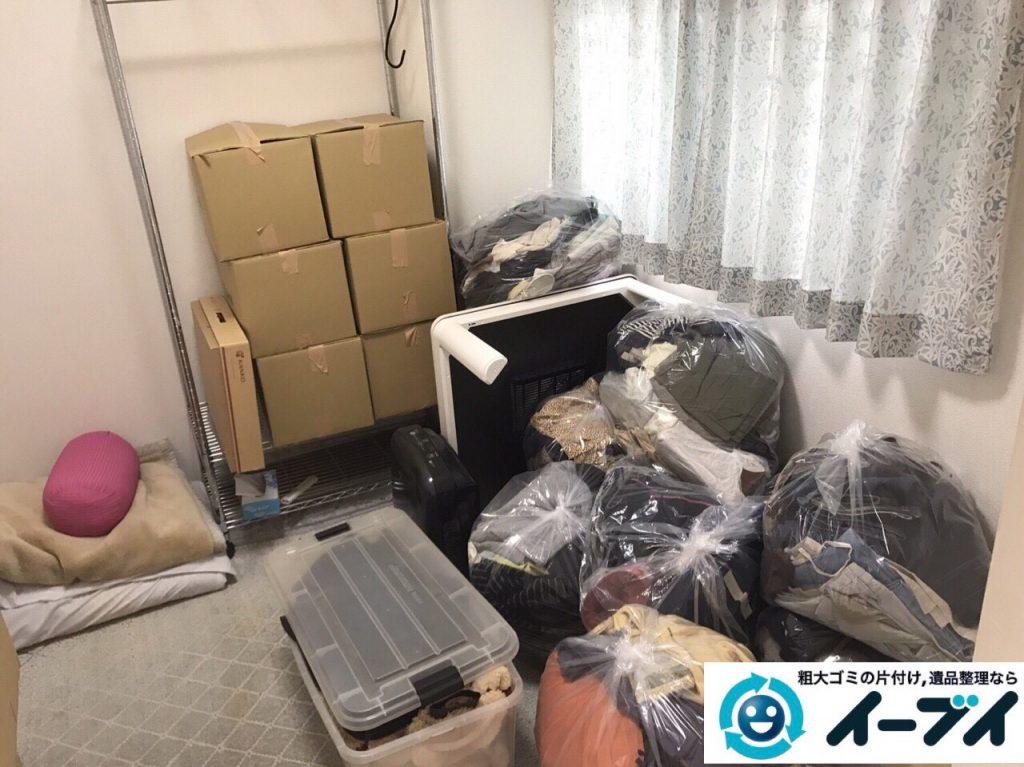 2017年8月16日大阪府豊中市で引越しに伴う不用品回収の片付け作業をしました。写真3