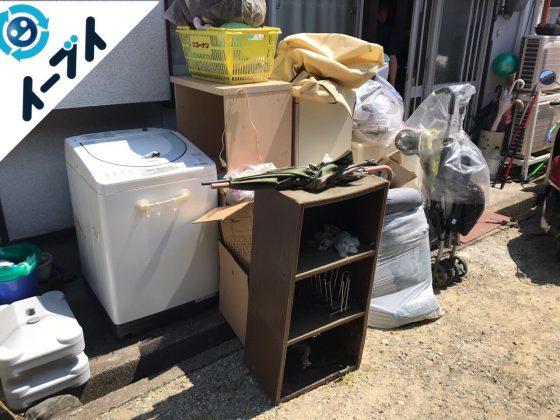 2017年8月7日大阪府池田市で大掃除に伴う片付けで不用品回収を利用していただきました。写真5