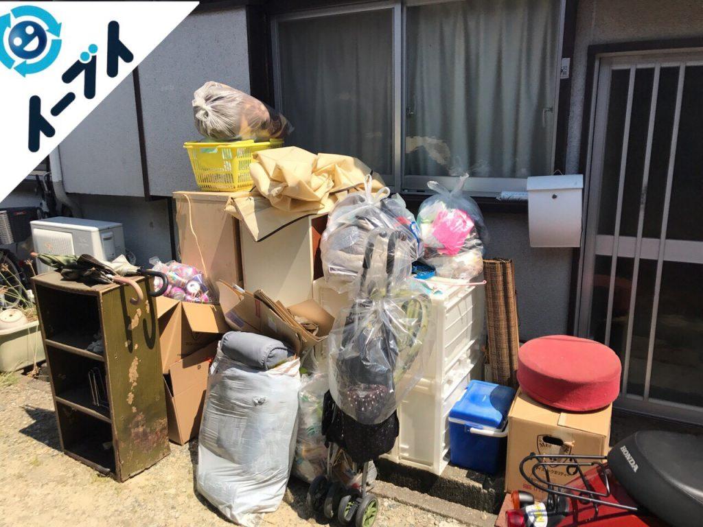 2017年8月7日大阪府池田市で大掃除に伴う片付けで不用品回収を利用していただきました。写真4