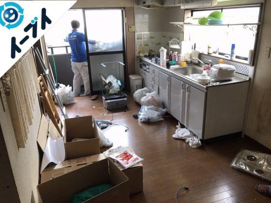 2017年8月14日大阪府豊能町で引越しゴミやソファー等の粗大ゴミや大型ゴミの不用品回収をしました。写真6