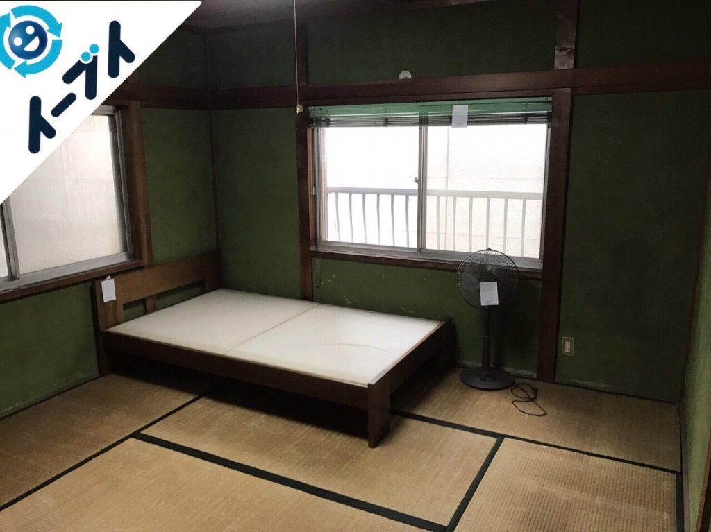 2017年8月9日大阪府岬町で遺品整理の依頼を受け片付け作業をしました。写真5