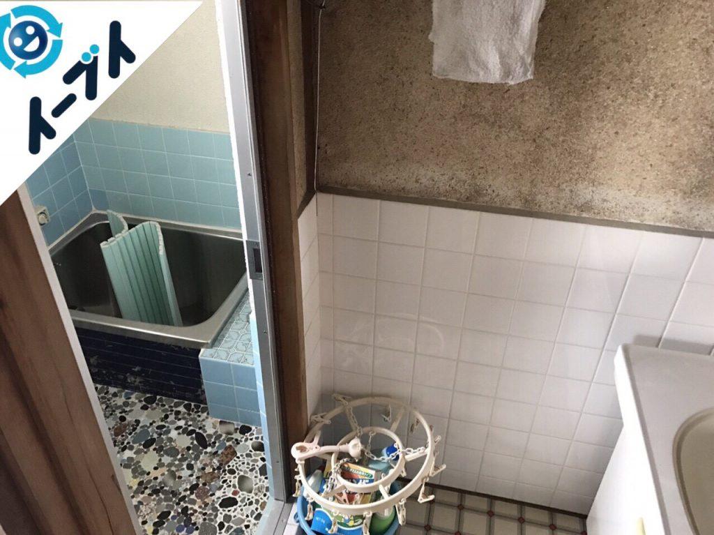 2017年8月20日大阪府能勢町で遺品整理の依頼を受け家具や廃品の処分をしました。写真4