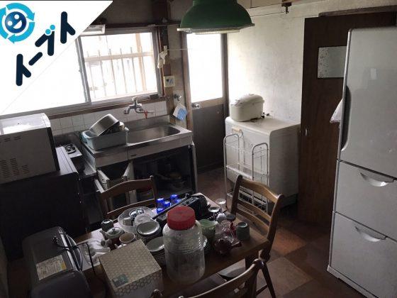 2017年8月9日大阪府岬町で遺品整理の依頼を受け片付け作業をしました。写真4