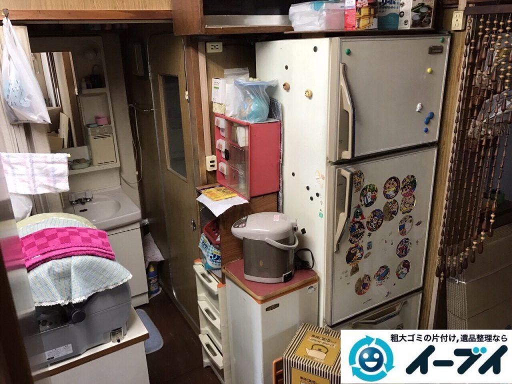 2017年8月19日大阪府能勢町で食器棚や家財道具の粗大ゴミの不用品回収をしました。写真9