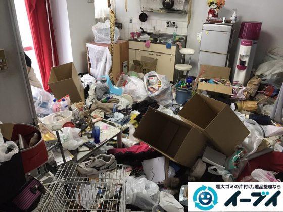 2017年8月27日大阪府大阪市旭区で汚部屋と言われるゴミ屋敷の片付けをしました。(後編)写真10