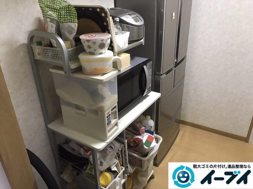 2017年9月1日大阪府大阪市西区大掃除に伴う粗大ゴミや廃品の片付けと不用品回収をしました。写真4