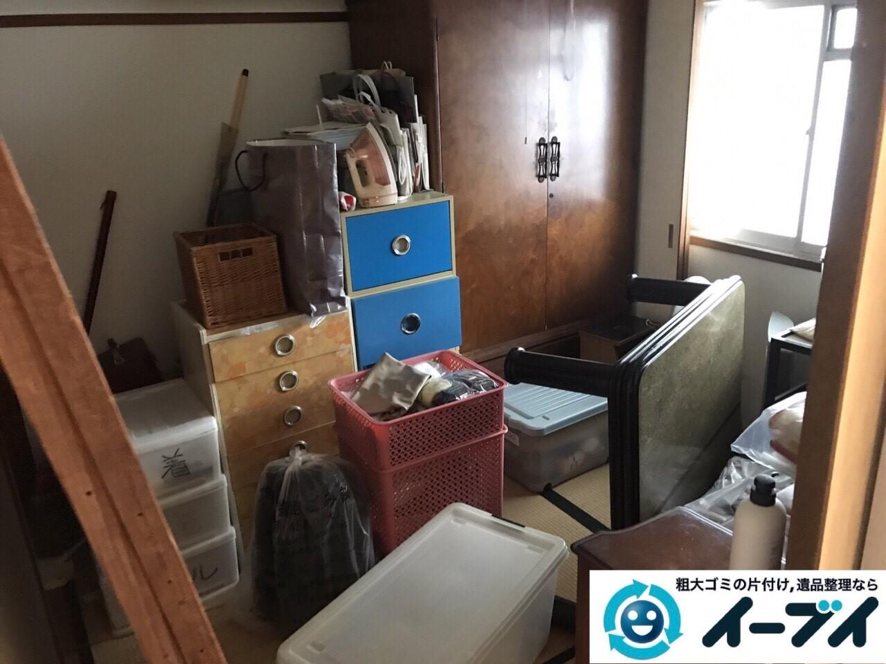 2017年9月3日大阪府大阪市大正区で遺品整理に伴い婚礼家具や粗大ゴミの処分と遺品処分をしました。写真7