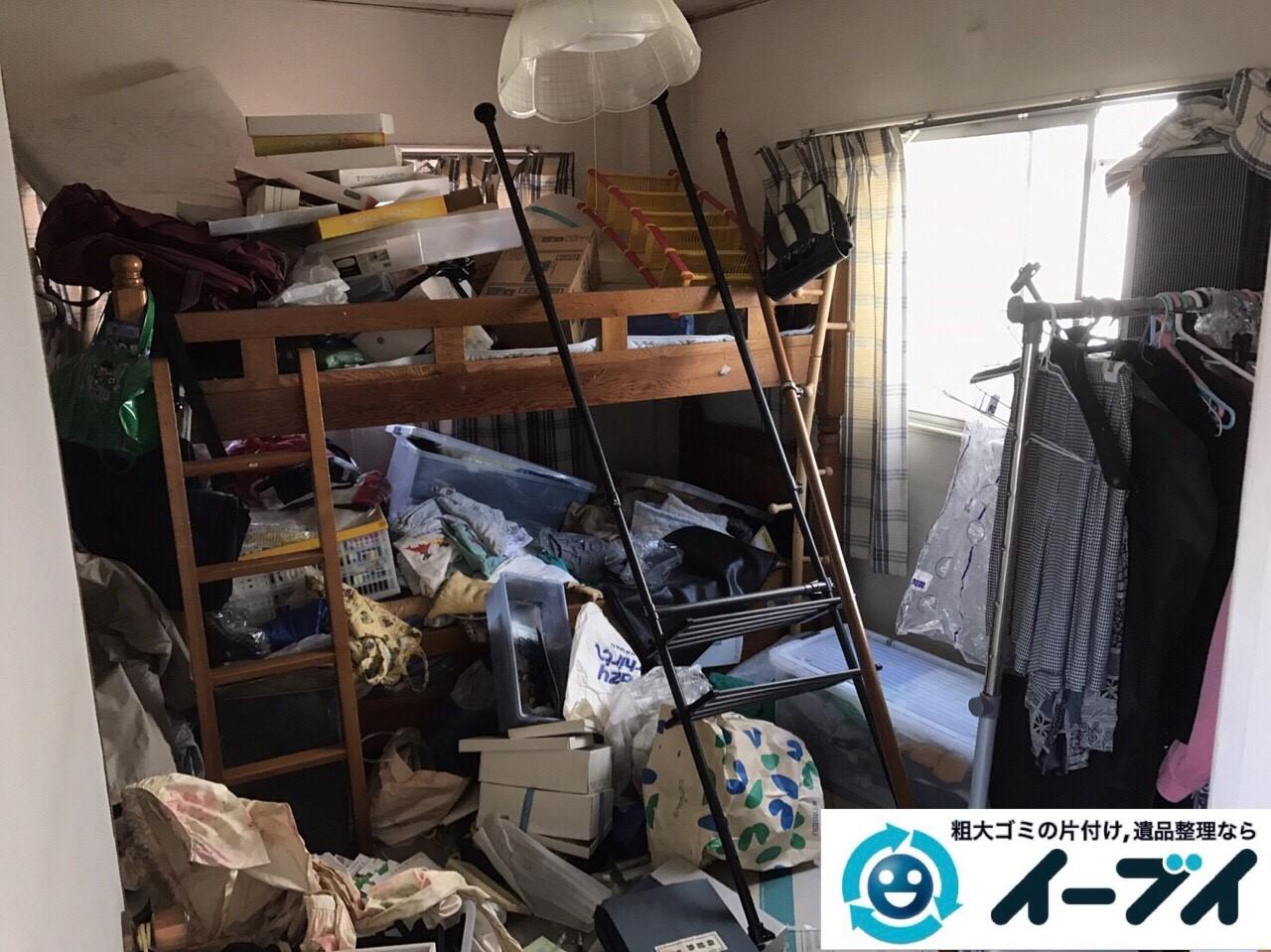 2017年8月30日大阪府大阪市此花区で布団や衣装ケースなどの粗大ゴミの不用品回収をしました。写真2