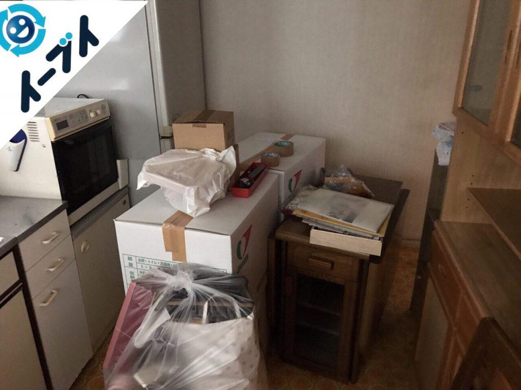 大阪府貝塚市で遺品整理に伴う家具や生活用品の処分をしました。写真4