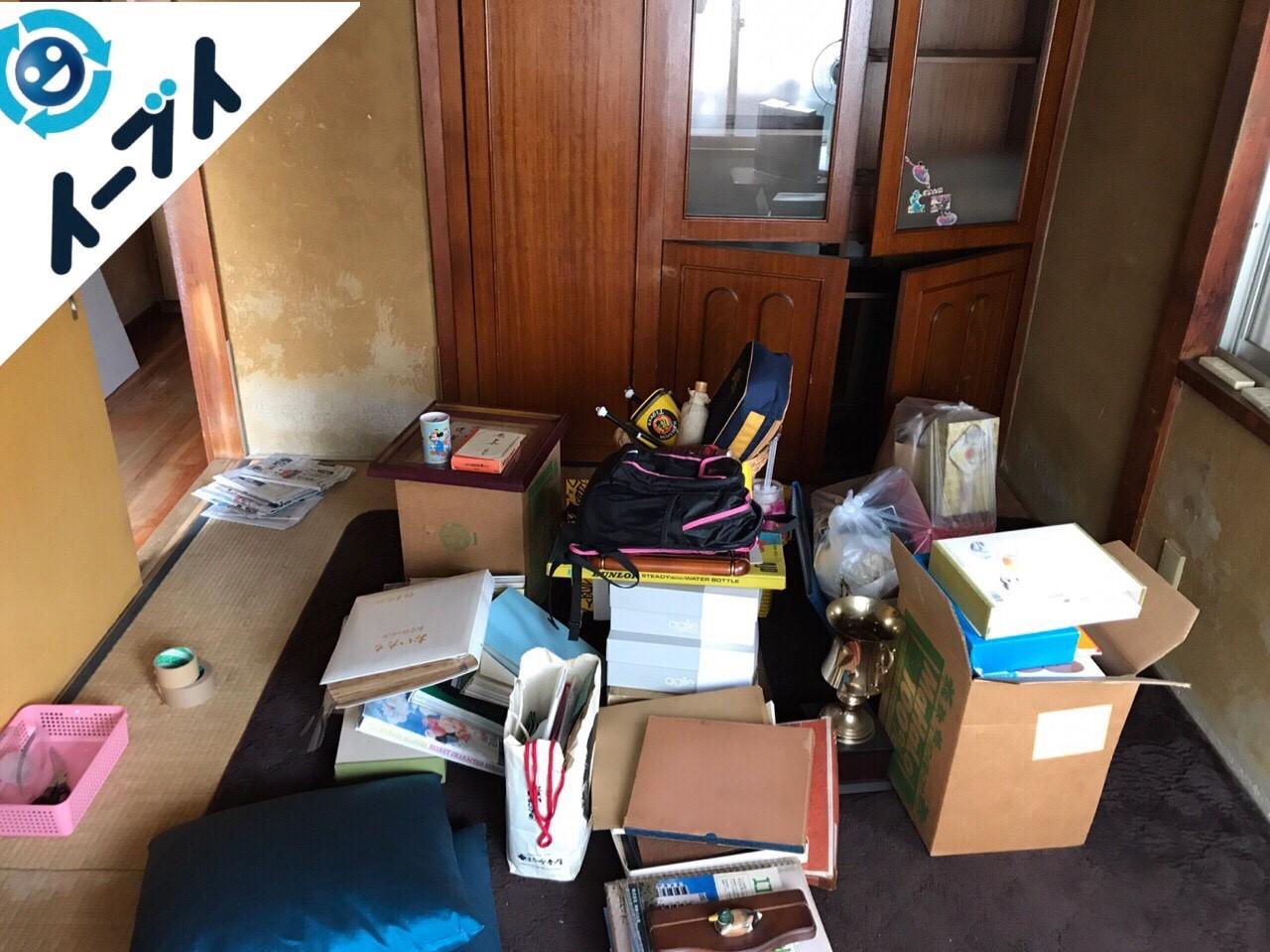 大阪府貝塚市で遺品整理に伴う家具や生活用品の処分をしました。写真8