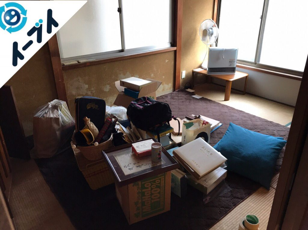 大阪府貝塚市で遺品整理に伴う家具や生活用品の処分をしました。写真6
