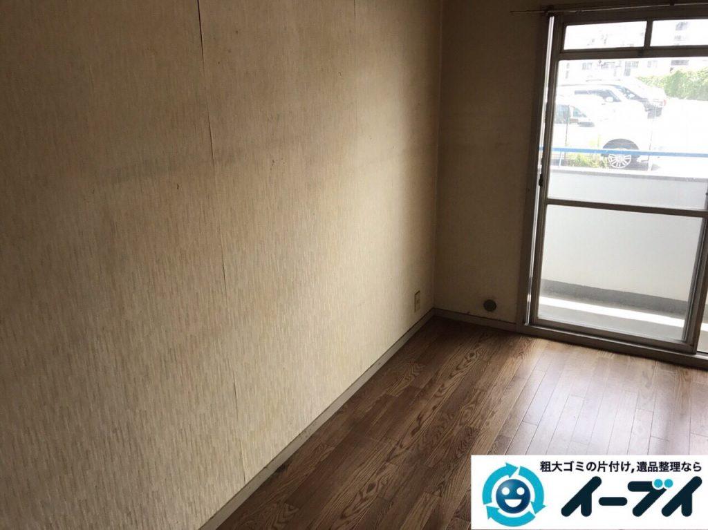 2017年9月6日大阪府大阪市大正区で和箪笥と洋タンスの家具処分と廃品の不用品回収をしました。写真4
