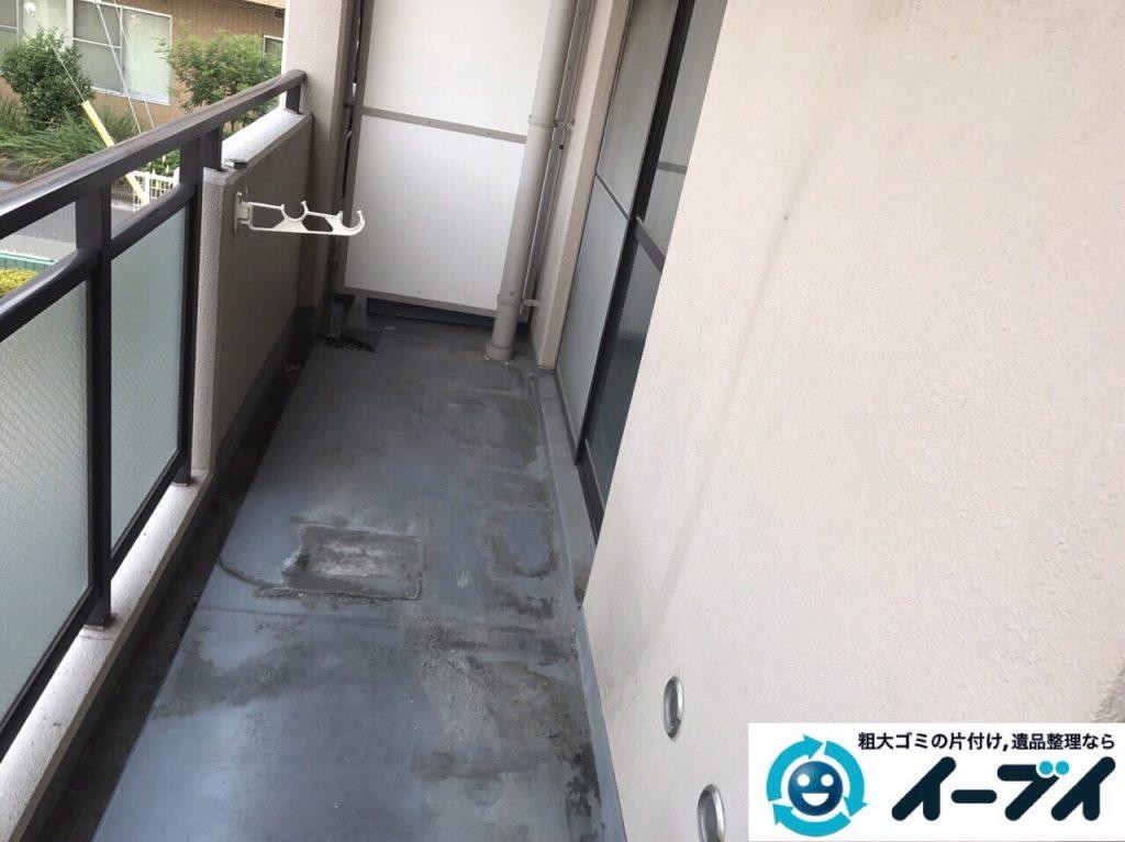 2017年9月30日大阪府岸和田市で遺品整理に伴い家具処分や片付けをしました。写真7