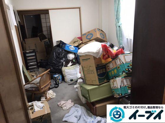 2017年9月15日大阪府大阪市福島区で引越し後の洗濯機や粗大ゴミの不用品回収をしました。写真2