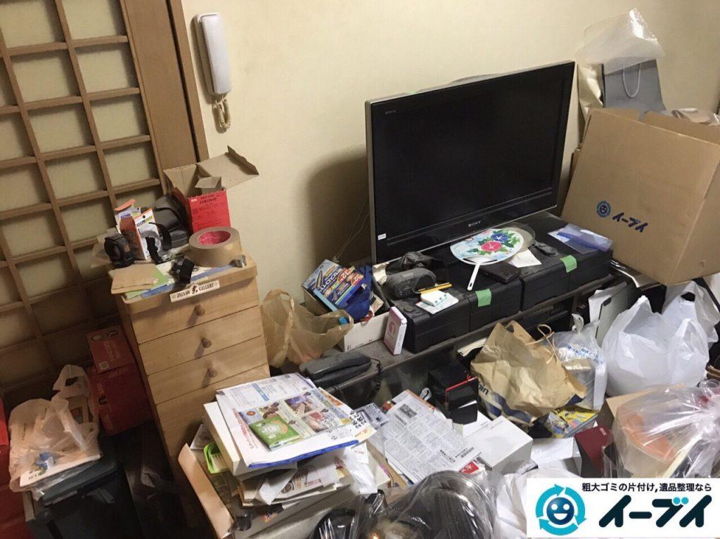 2017年9月30日大阪府岸和田市で遺品整理に伴い家具処分や片付けをしました。写真6