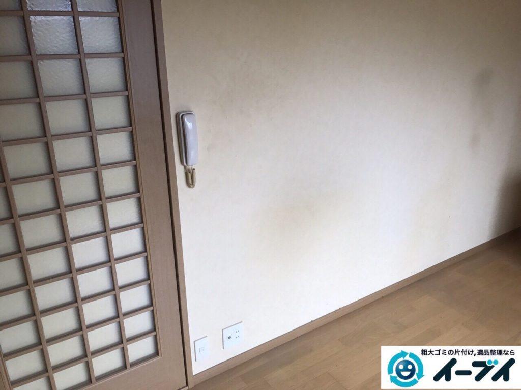 2017年9月30日大阪府岸和田市で遺品整理に伴い家具処分や片付けをしました。写真5