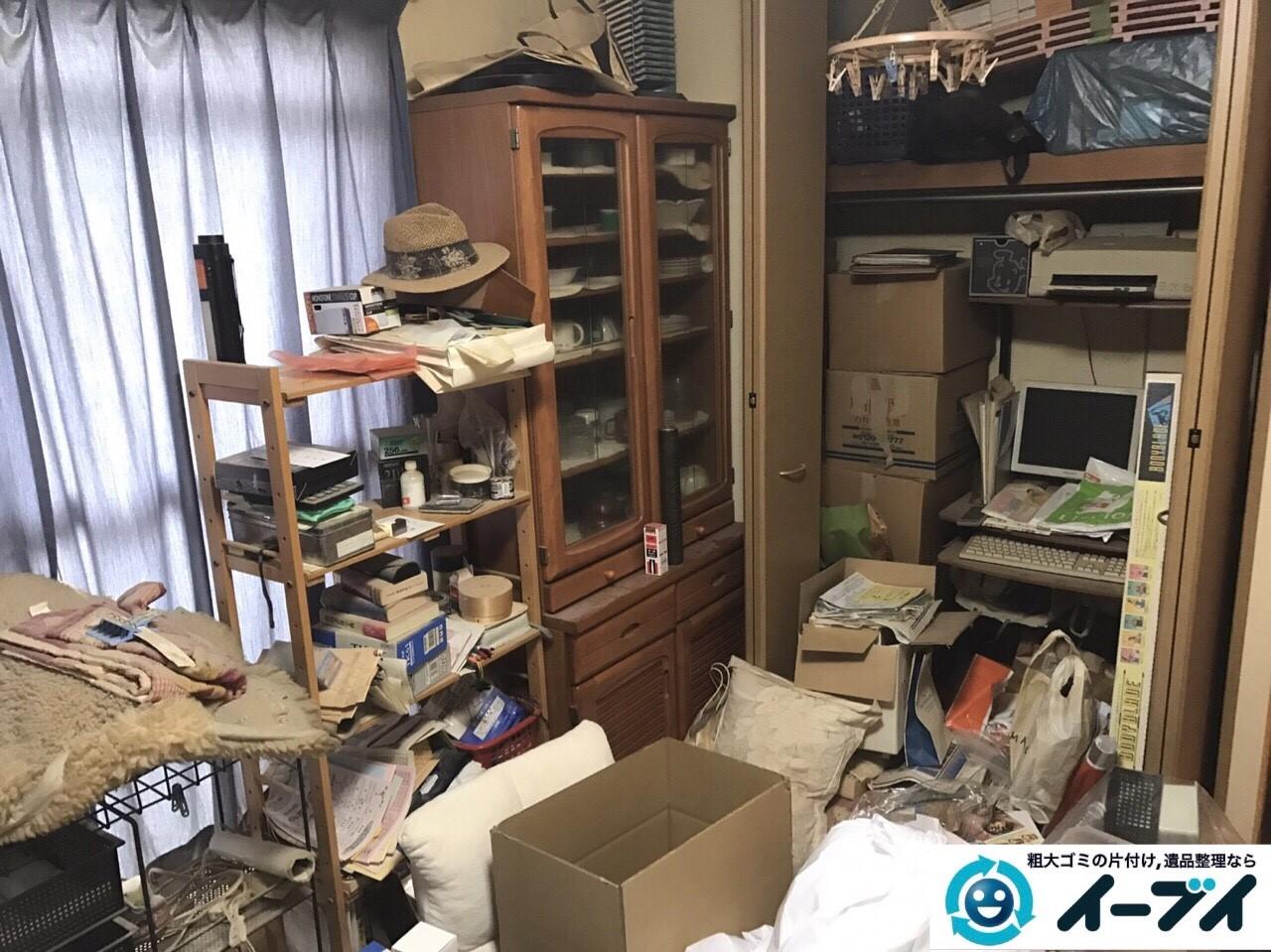 2017年9月30日大阪府岸和田市で遺品整理に伴い家具処分や片付けをしました。写真4