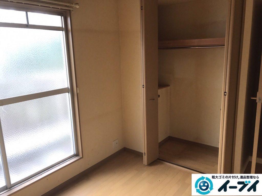 2017年9月30日大阪府岸和田市で遺品整理に伴い家具処分や片付けをしました。写真3
