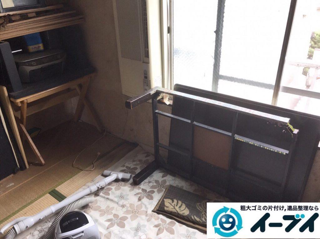 2017年9月18日大阪府茨木市で遺品整理に伴う家財道具の処分をしました。写真3