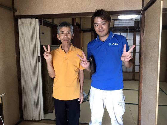 2017年兵庫県尼崎市で遺品整理とハウスクリーニングのご依頼をいただきました。9月23日