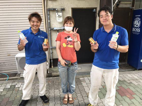 2017年9月17日大阪府住之江区で引越しのお手伝いをさして頂きました。