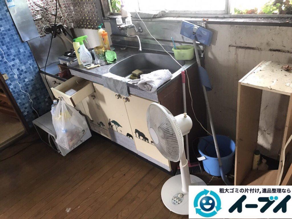 2017年9月18日大阪府茨木市で遺品整理に伴う家財道具の処分をしました。写真5