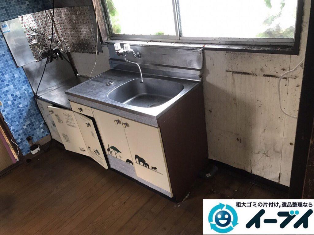 2017年9月18日大阪府茨木市で遺品整理に伴う家財道具の処分をしました。写真4