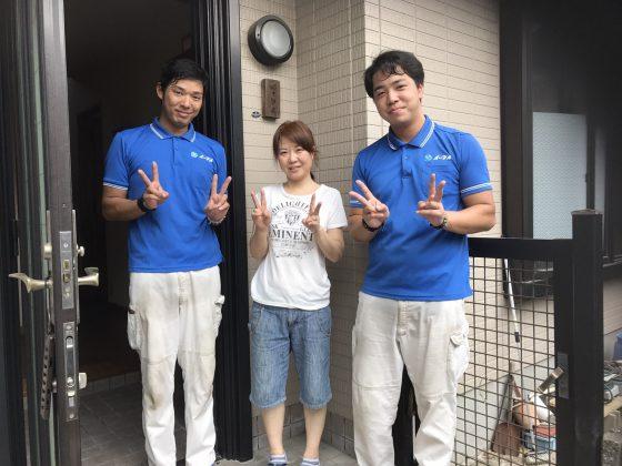 2017年9月8日大阪府狭山市で家財道具の処分でイーブイをご利用して頂きました。