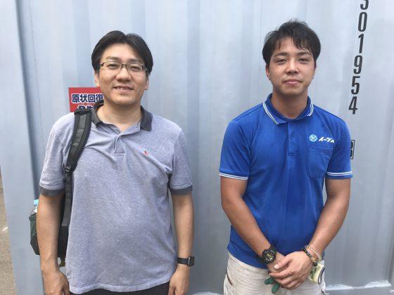 2017年9月5日大阪府八尾市高井田でトランクルームの整理でイーブイを利用して頂きました。