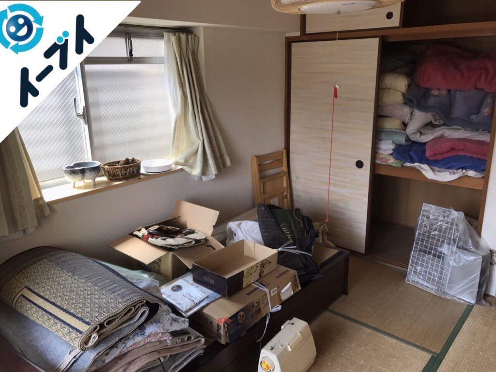 2017年10月3日大阪府堺市堺区で引越し後の粗大ゴミや廃品の不用品回収のご依頼。写真6