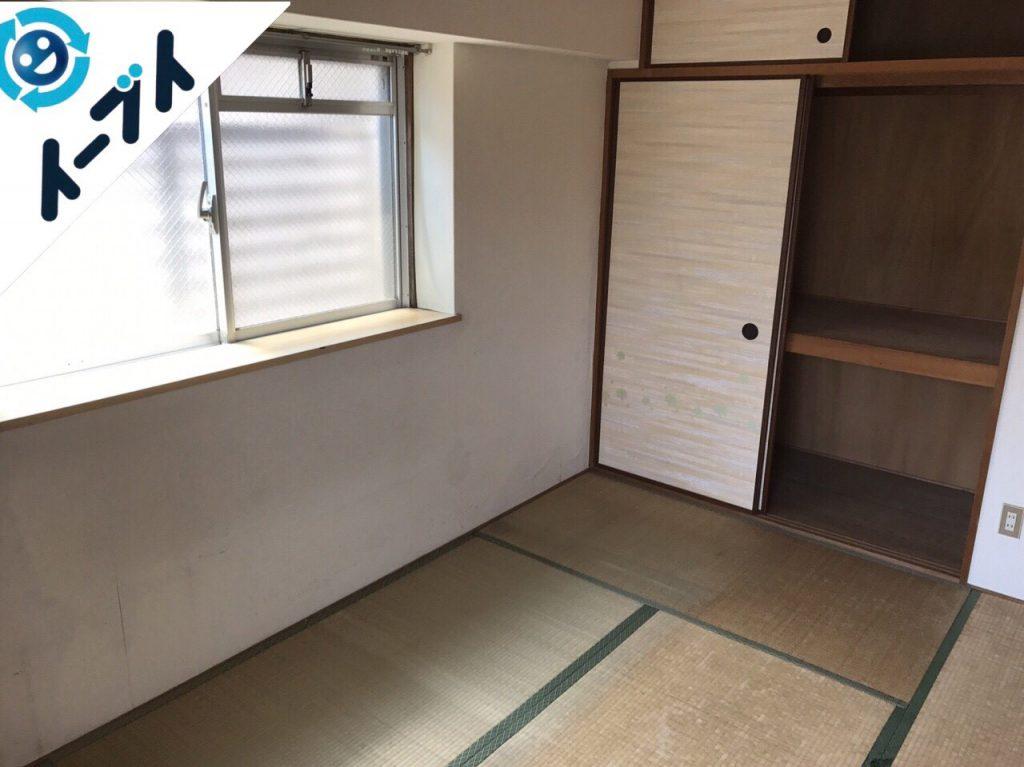 2017年10月3日大阪府堺市堺区で引越し後の粗大ゴミや廃品の不用品回収のご依頼。写真5