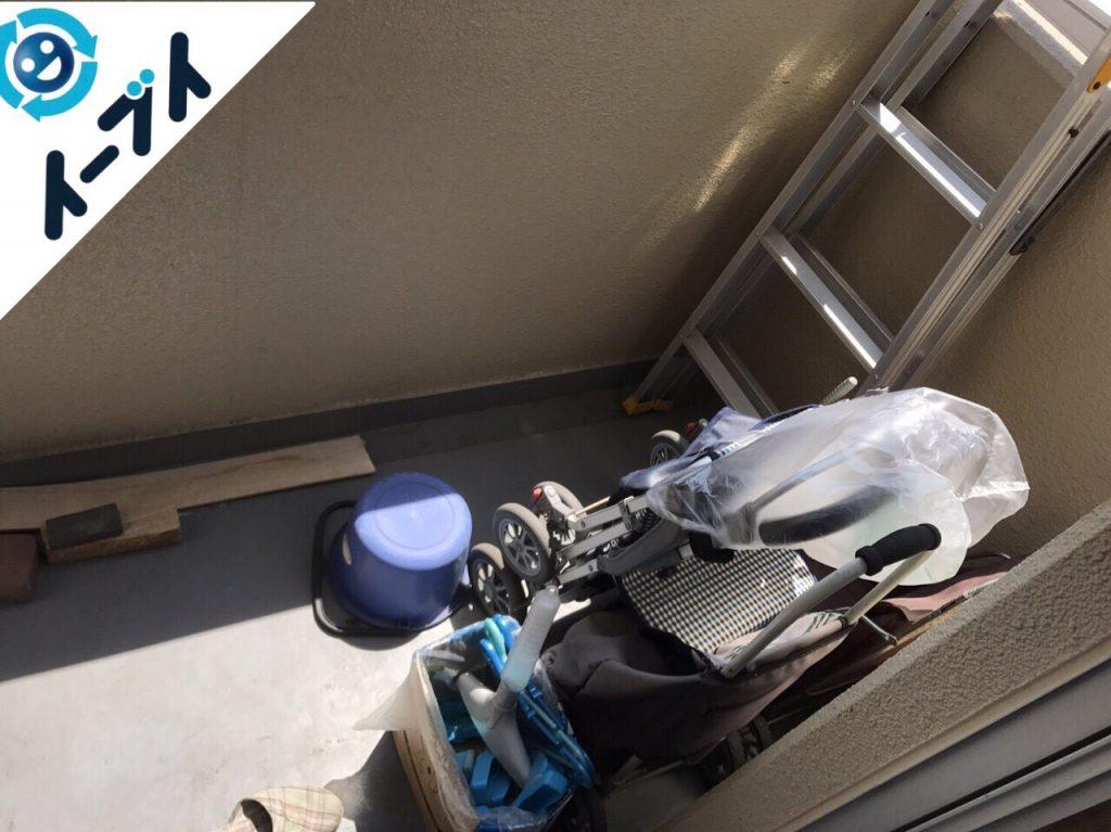 2017年10月3日大阪府堺市堺区で引越し後の粗大ゴミや廃品の不用品回収のご依頼。写真4