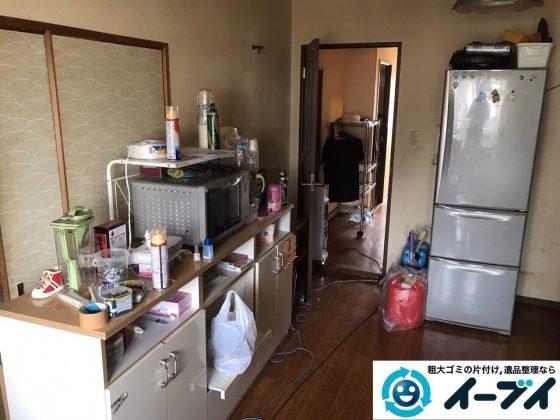2017年11月4日大阪府島本町で遺品整理に伴い残置物の処分をしました。写真6