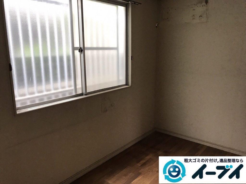 2017年10月21日大阪府泉佐野市で遺品整理に伴い家具処分や形見分けをしました。写真2