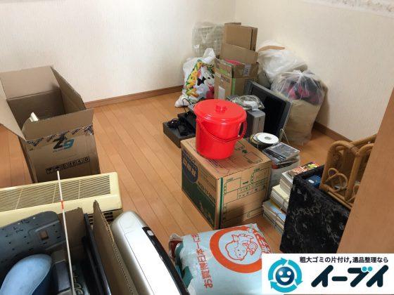 2017年10月15日大阪府松原市でクーラーや子供の玩具等の不用品回収をしました。写真1