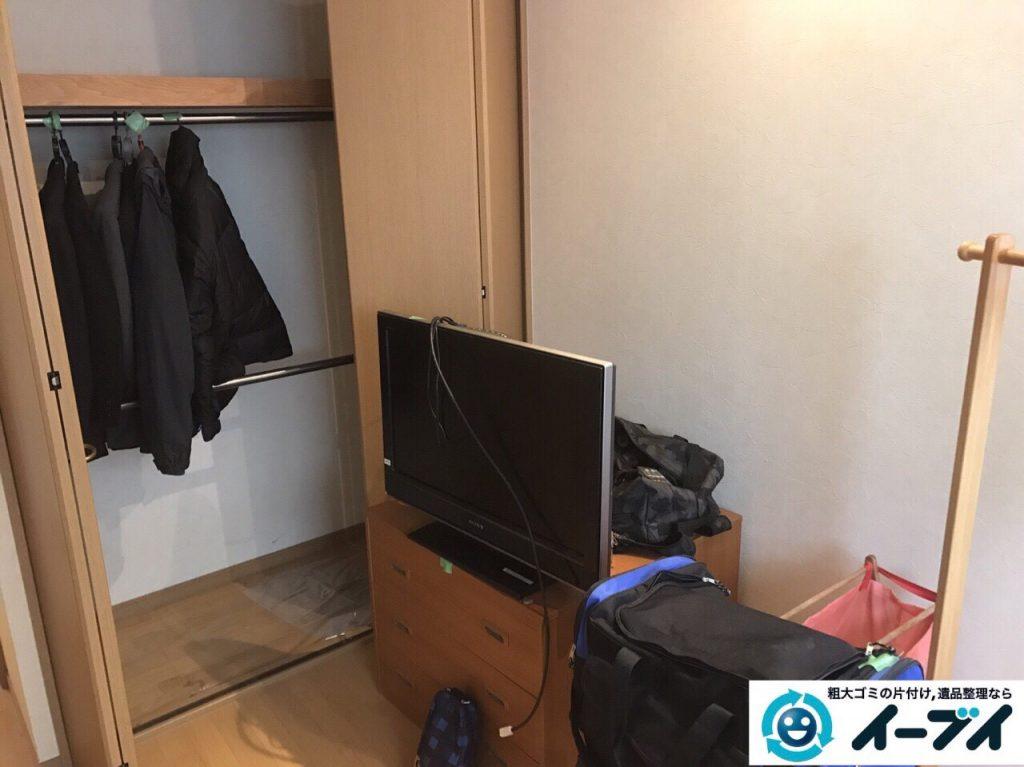 2017年10月6日大阪府堺市中区で引越し後の部屋の粗大ゴミやベッドの不用品回収をしました。写真6