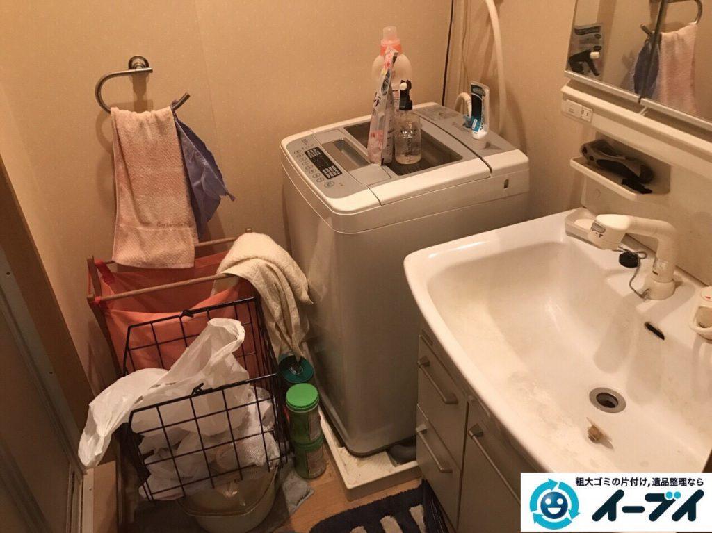 2017年10月6日大阪府堺市中区で引越し後の部屋の粗大ゴミやベッドの不用品回収をしました。写真5