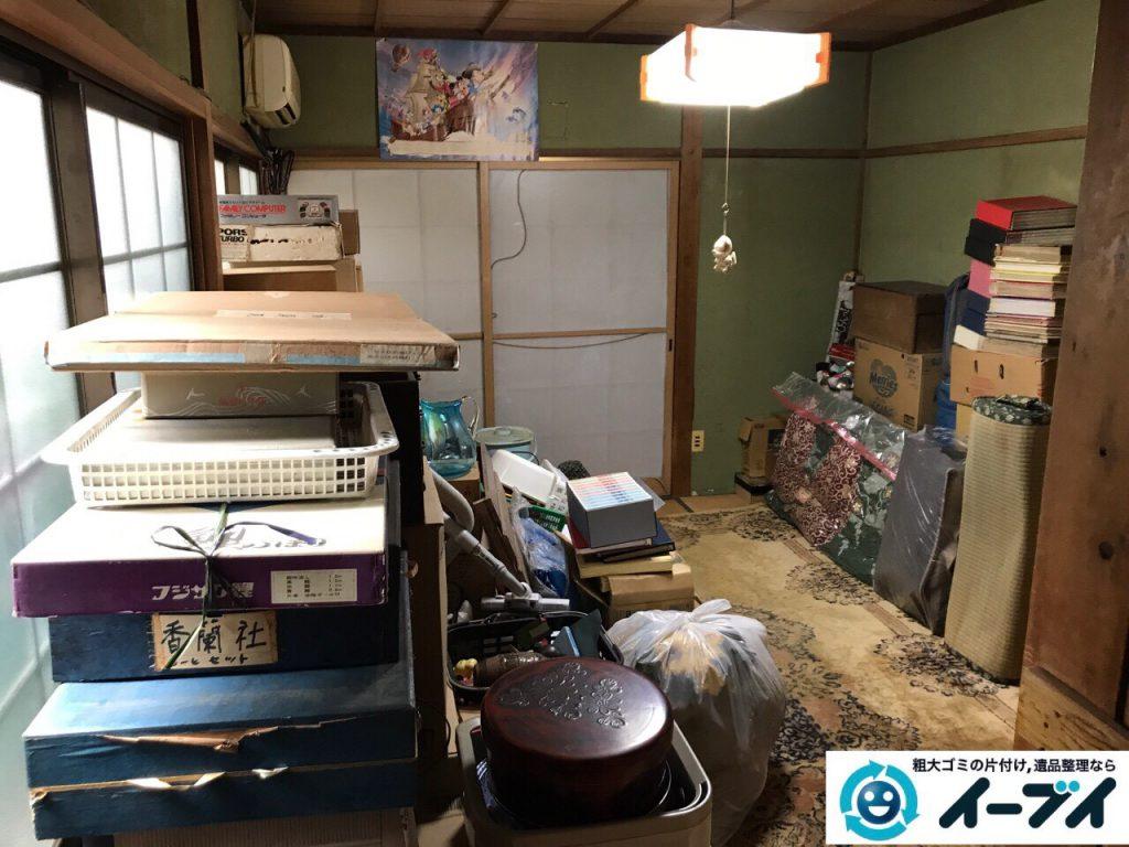 2017年10月12日大阪府堺市北区で断捨離に伴い粗大ゴミの不用品回収をしました。写真5