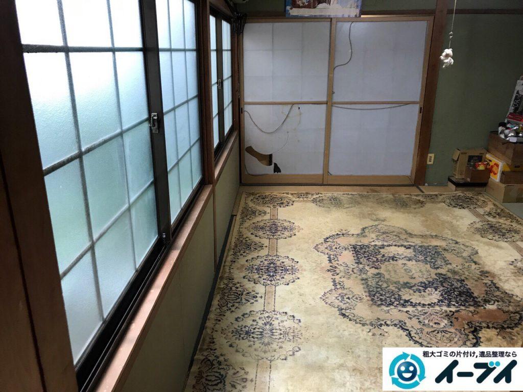 2017年10月12日大阪府堺市北区で断捨離に伴い粗大ゴミの不用品回収をしました。写真4