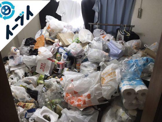 2017年10月30日大阪府高槻市で汚部屋状態のゴミ屋敷の片付けをしました。写真5