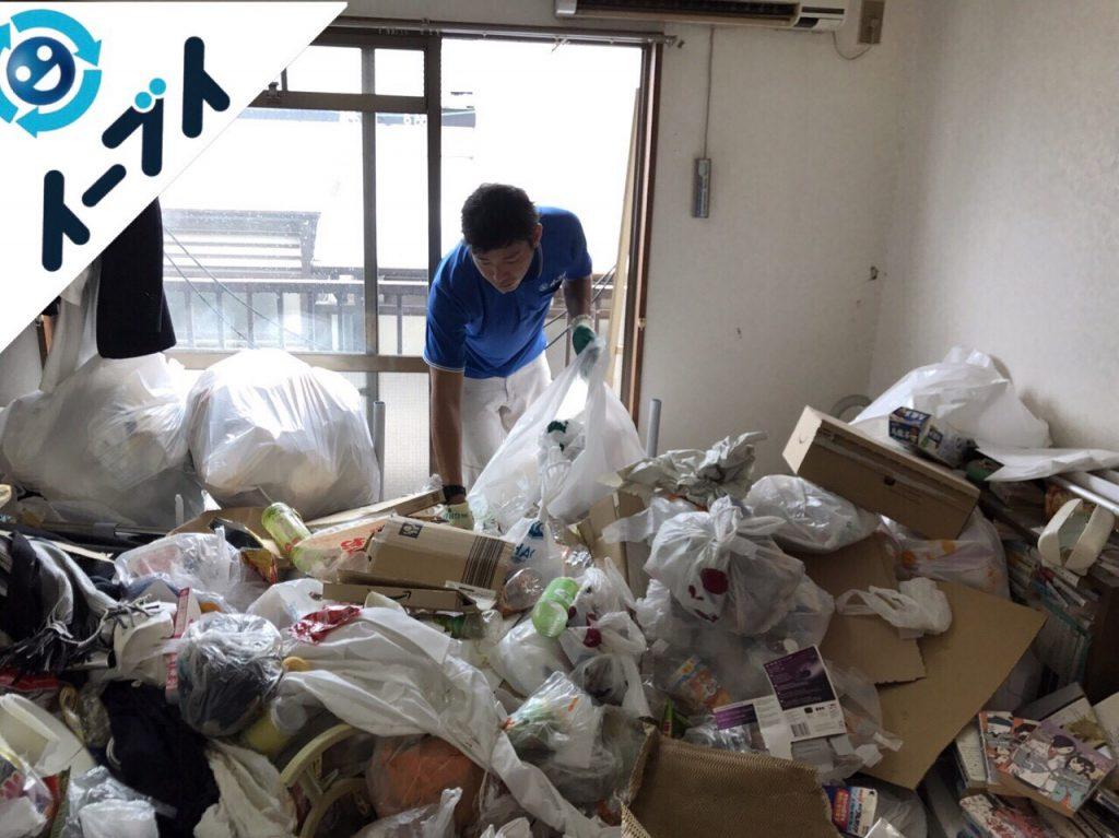 2017年10月30日大阪府高槻市で汚部屋状態のゴミ屋敷の片付けをしました。写真3