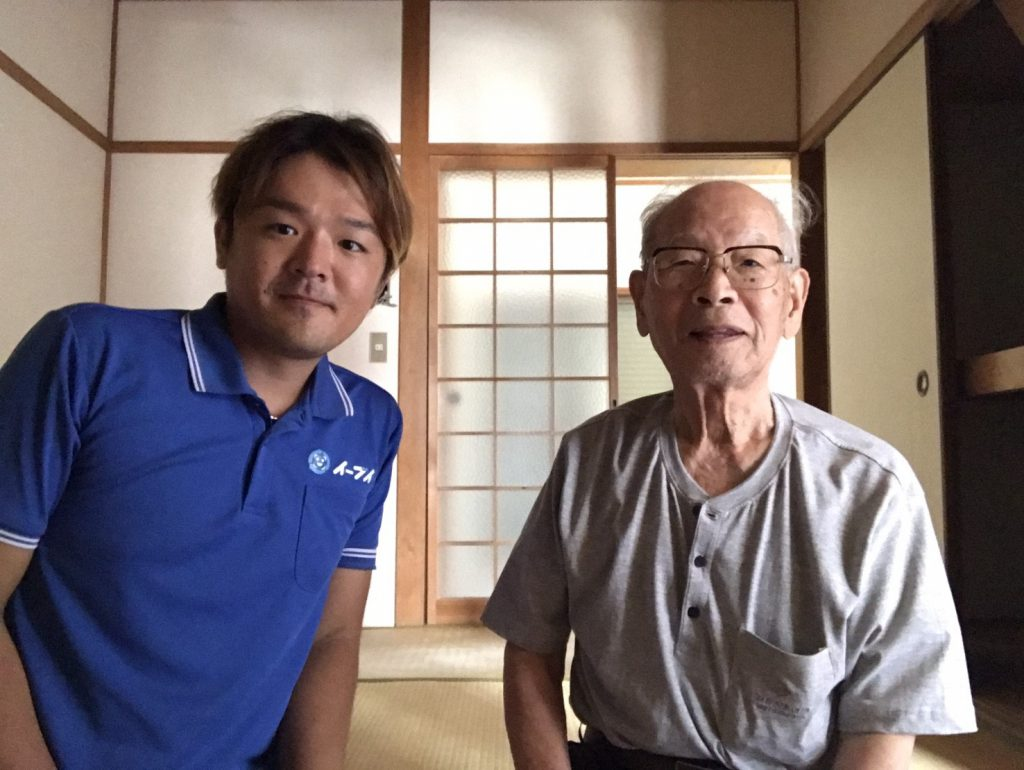 2017年10月5日大阪府大阪市西淀川区で遺品整理の作業をさせて頂き一軒家の家具や粗大ゴミを処分させていただきました。写真1