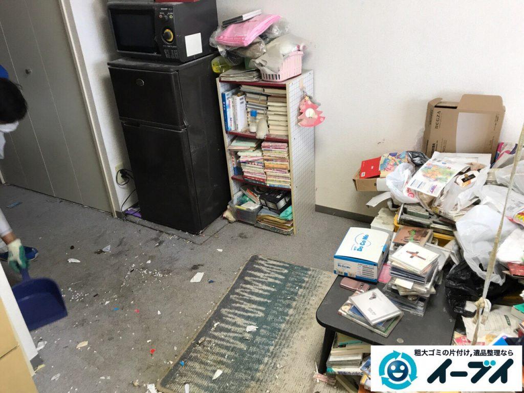 2017年11月11日大阪府大阪市中央区で汚部屋、ゴミ屋敷の片付けをしました。写真8