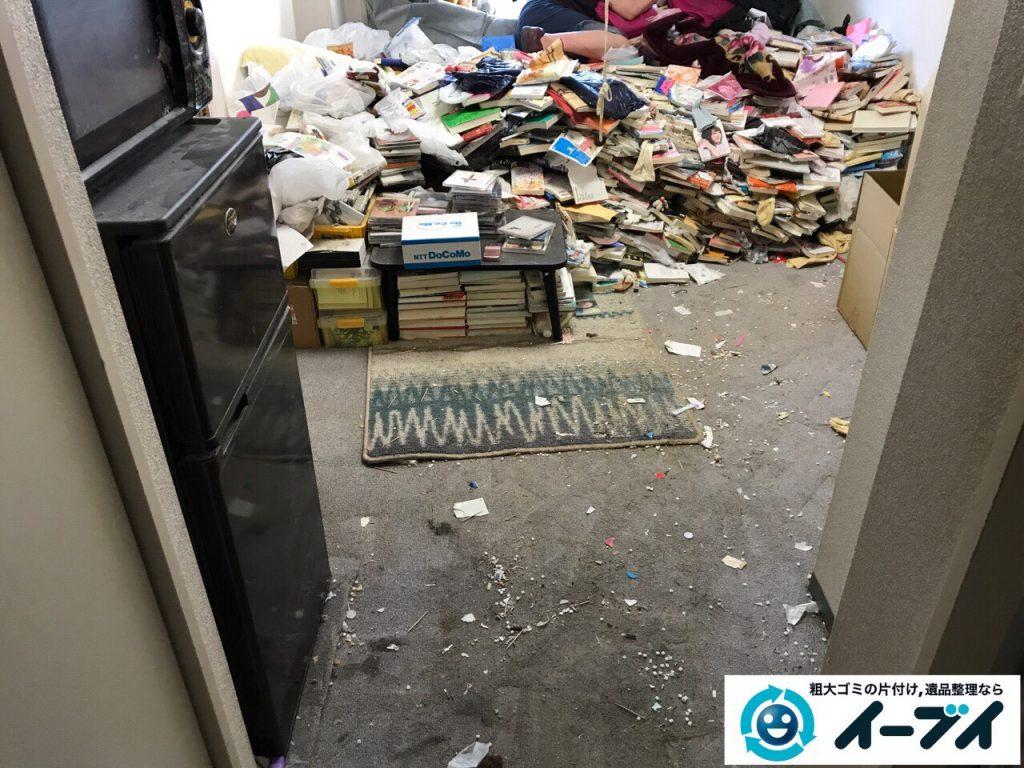 2017年11月11日大阪府大阪市中央区で汚部屋、ゴミ屋敷の片付けをしました。写真7