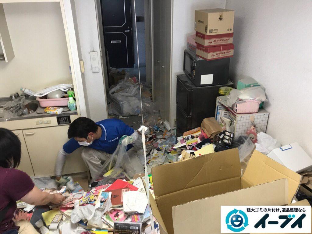 2017年11月11日大阪府大阪市中央区で汚部屋、ゴミ屋敷の片付けをしました。写真6