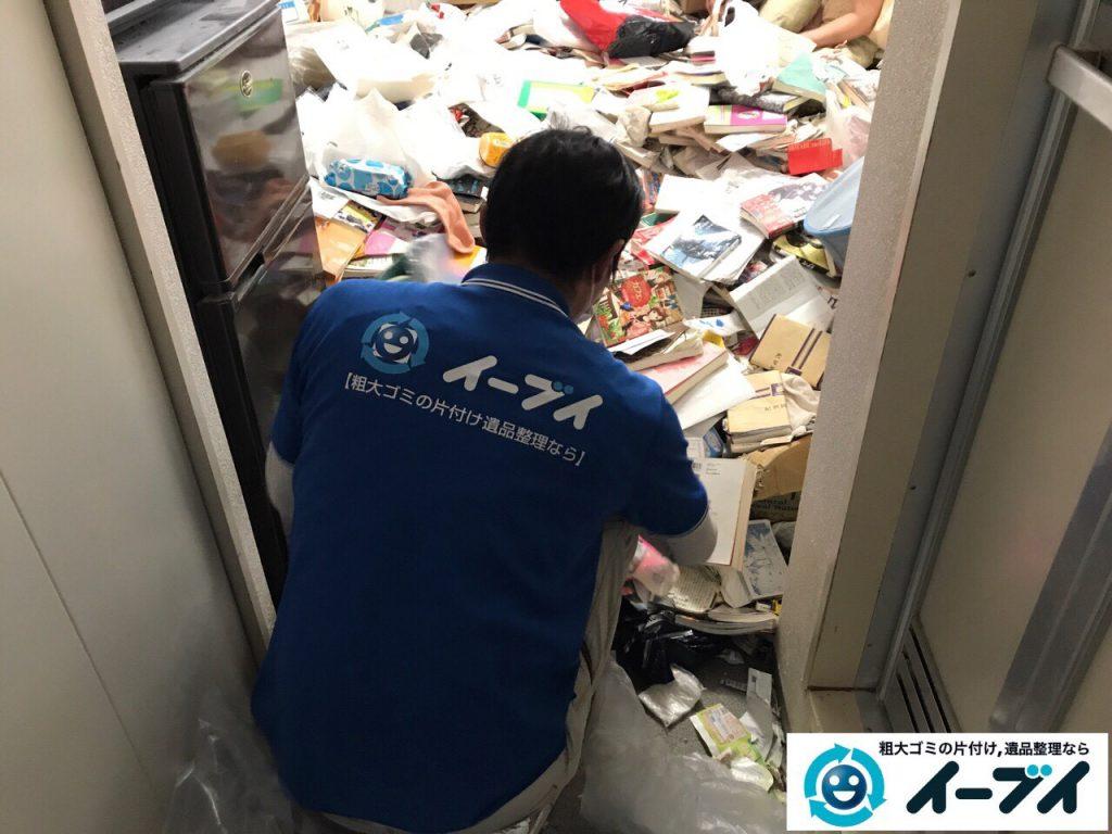 2017年11月11日大阪府大阪市中央区で汚部屋、ゴミ屋敷の片付けをしました。写真5